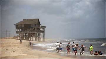 Mandatory evacuations issued for Outer Banks ahead of Florence