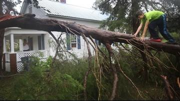 Power outages near 800,000 as Florence rocks the Carolina coast