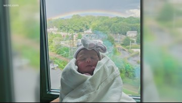 Charlotte family welcomes 'miracle rainbow baby' after several miscarriages