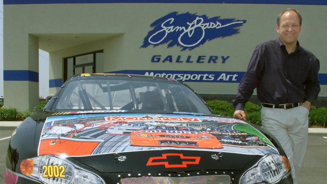 NASCAR artist Sam Bass dies at 57