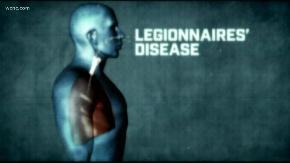 NC officials confirm 3rd death from Legionnaires' disease