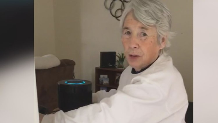 VIDEO: Grandma cannot figure out how to talk to Alexa