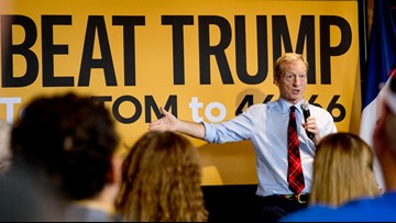 Tom Steyer qualifies for South Carolina debate