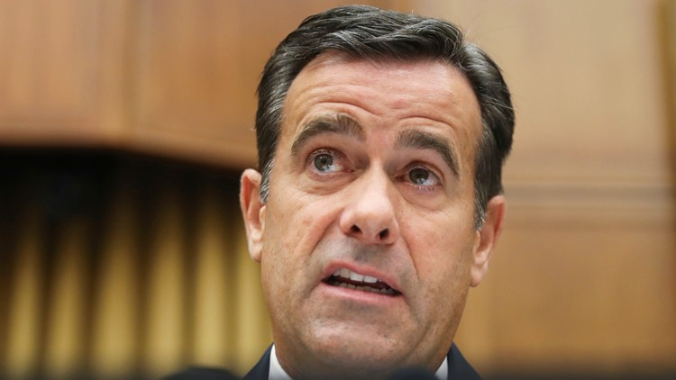 Trump nominates Rep. John Ratcliffe again for Director of National Intelligence