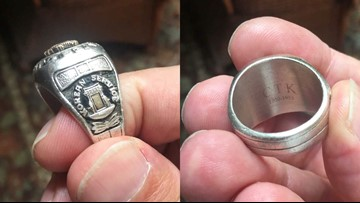 'It's the service, sacrifice': War vet hopes to return lost ring to fellow soldier