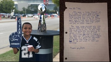 7-year-old fed up with Cowboys' season pens hilarious letter to Jerry Jones