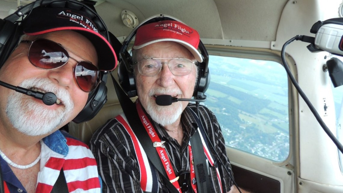 96-year-old pilot still in love with flying, serving his country