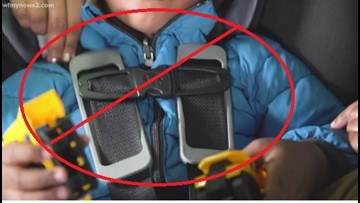 Stop! Why coats, kids and car seats are dangerous