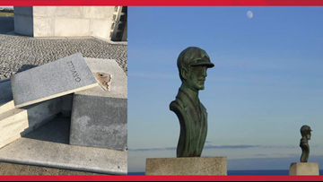 Wright Brothers Monument Theft | Copper Bust of Orville Wright Stolen From National Park