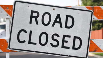 Road closures downtown for St. Patrick's Day weekend events