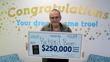 NC Man With Stage 4 Liver Cancer Has Big Plans For Lottery Winnings