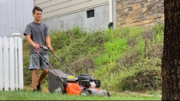 'I was Like This is Cool.' NC teen mows lawns for elderly, disabled, and veterans for free