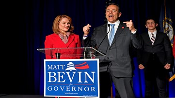 Matt Bevin's campaign requests official recanvass following KY gov. election results