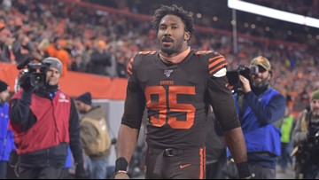 AP source: NFL to hear Myles Garrett's appeal on suspension early this week
