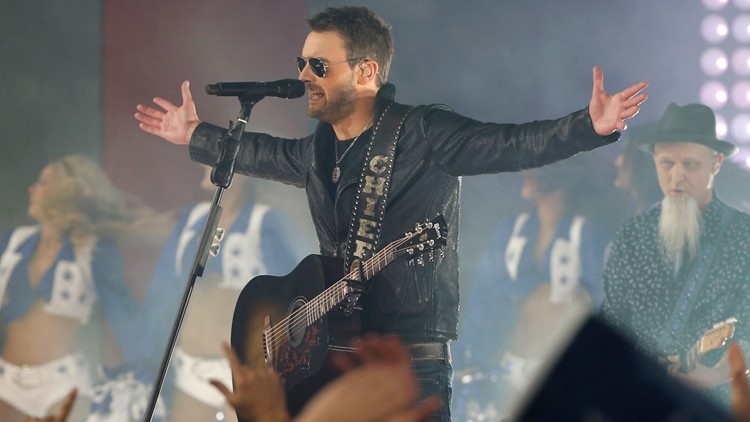 Country star Eric Church to perform in Knoxville on Nov. 12