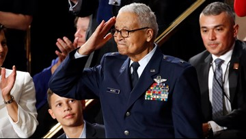 100-year-old Tuskegee Airman, Cleveland native honored at State of the Union after being promoted to Brigadier General