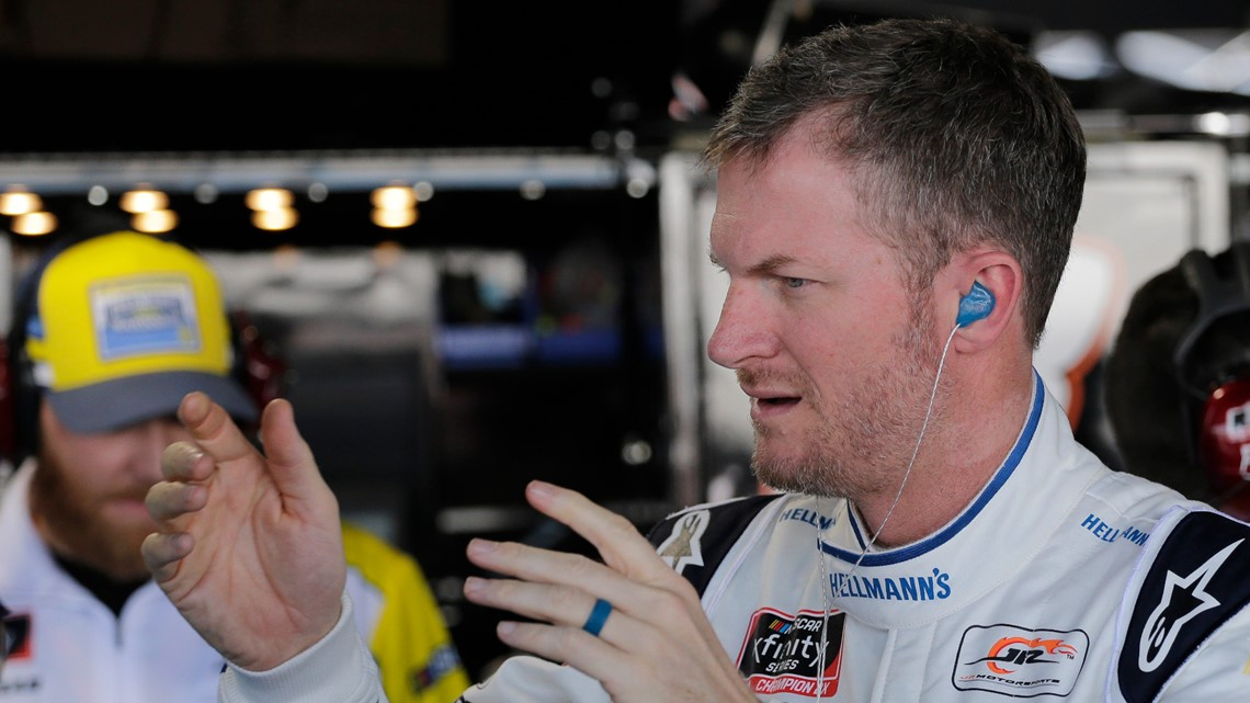 Earnhardt grateful to be racing at Darlington and to be alive