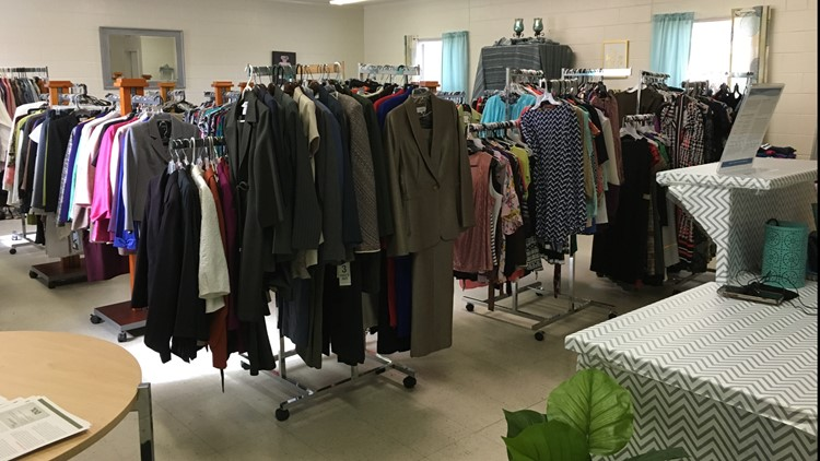 Upscale Interview Clothing Closet