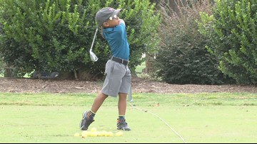 5-year-old Georgia golfer competes in world competition
