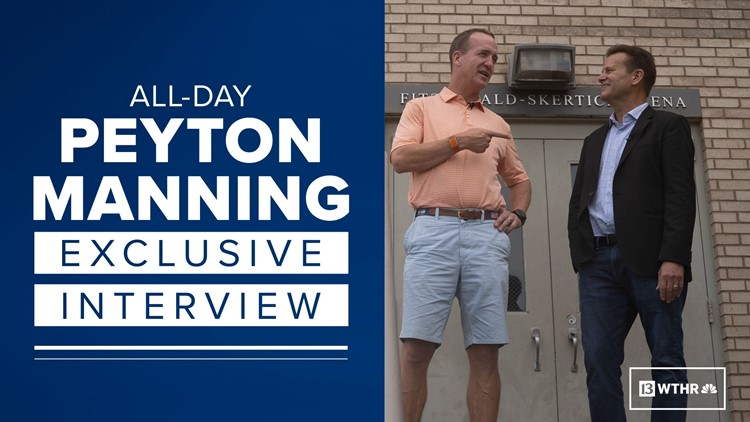 Exclusive Peyton Manning interview as he prepares to be inducted into the Pro Football Hall of Fame