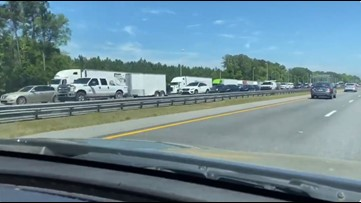 Checkpoints set up entering Fla. from Ga. & Ala., in effort to limit spread of COVID-19 some drivers skirt barriers