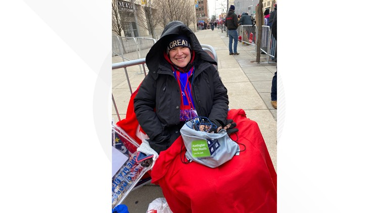 Christina Fitchett Hickson Flint Michigan Trump Rally