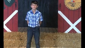 Seventh grader donates fair livestock winnings of $15,000 to St. Jude
