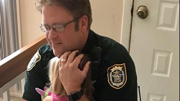 Dramatic video shows Seminole Co. deputy rescue girl from hot car