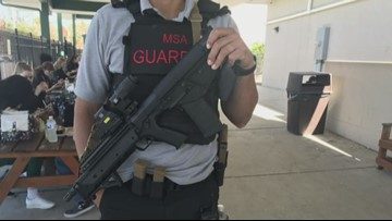 Florida school first in US to have guardians carry long guns