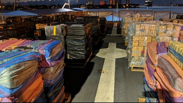 More than 34,000 pounds of seized cocaine offloaded in Port Everglades