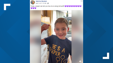 6-year-old boy with cystic fibrosis tackles coronavirus