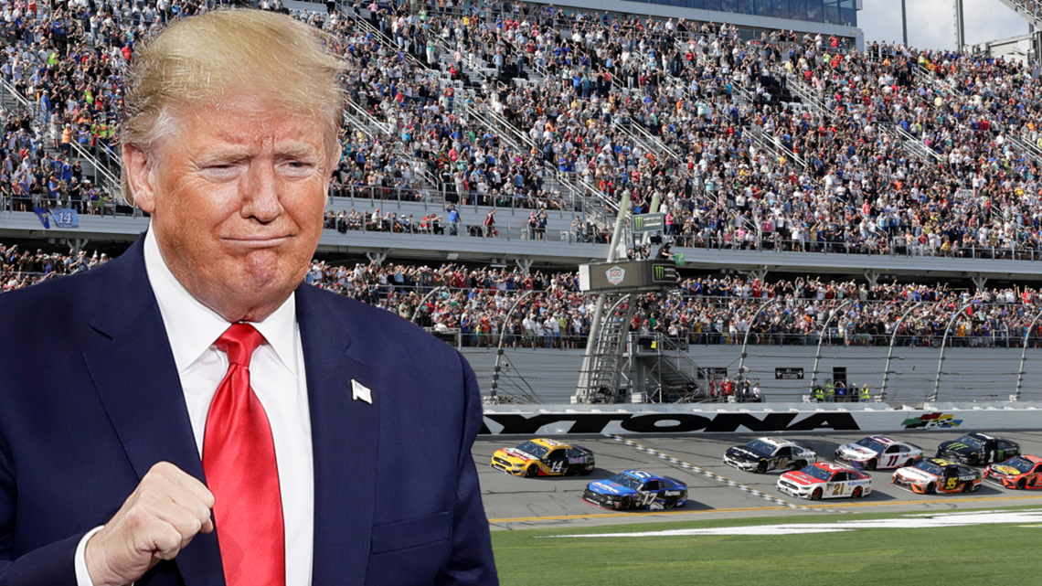 President Trump will give the 'start your engines' command at Daytona 500