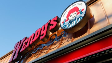 Video appears to show somebody taking a bath in the kitchen sink at a Florida Wendy's