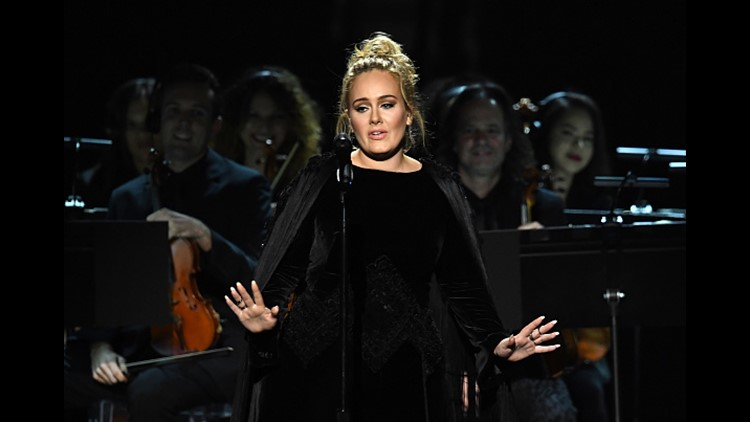 <p>When you're Adele and you're not satisfied with your tribute to an inspiration and countryman, you start over.</p>