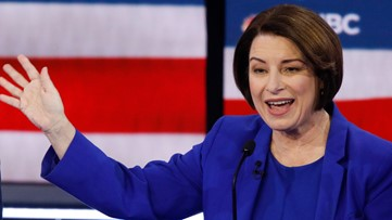 Amy Klobuchar is set to campaign in Knoxville this weekend