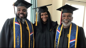 New college grads: Mom, dad and granddad all get bachelor's degrees together