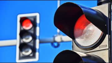 Driving You Crazy: 2 Knoxville intersections among top 10 most-run red lights in the country