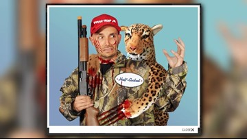 PETA Halloween costume takes aim at Donald Trump Jr.
