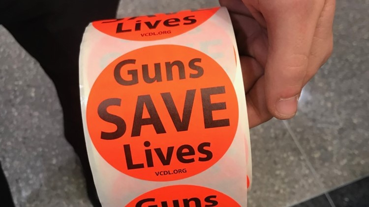 Guns save Lives sticker