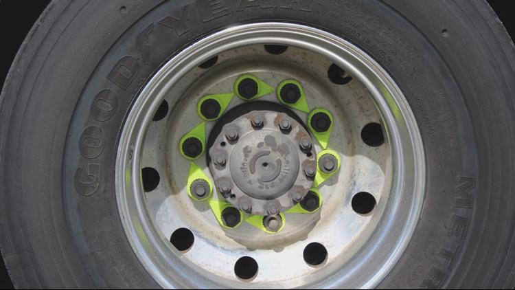 Wheel Check Device When Wheels Come Off