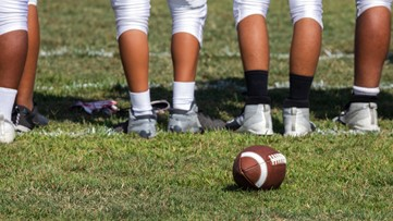 High school football player airlifted after game injury
