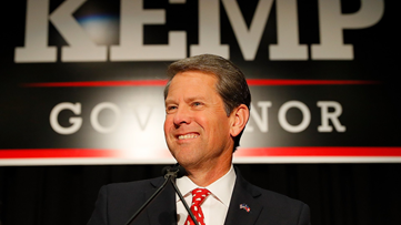 Brian Kemp declares victory over Stacey Abrams in Georgia governor race