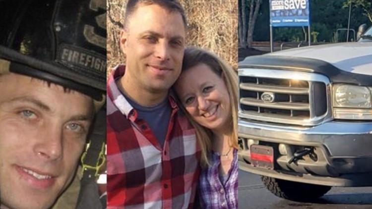 Firefighter truck stolen