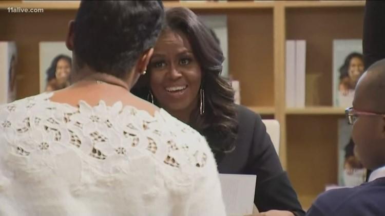 Michelle Obama book tour coming to Atlanta in 2019