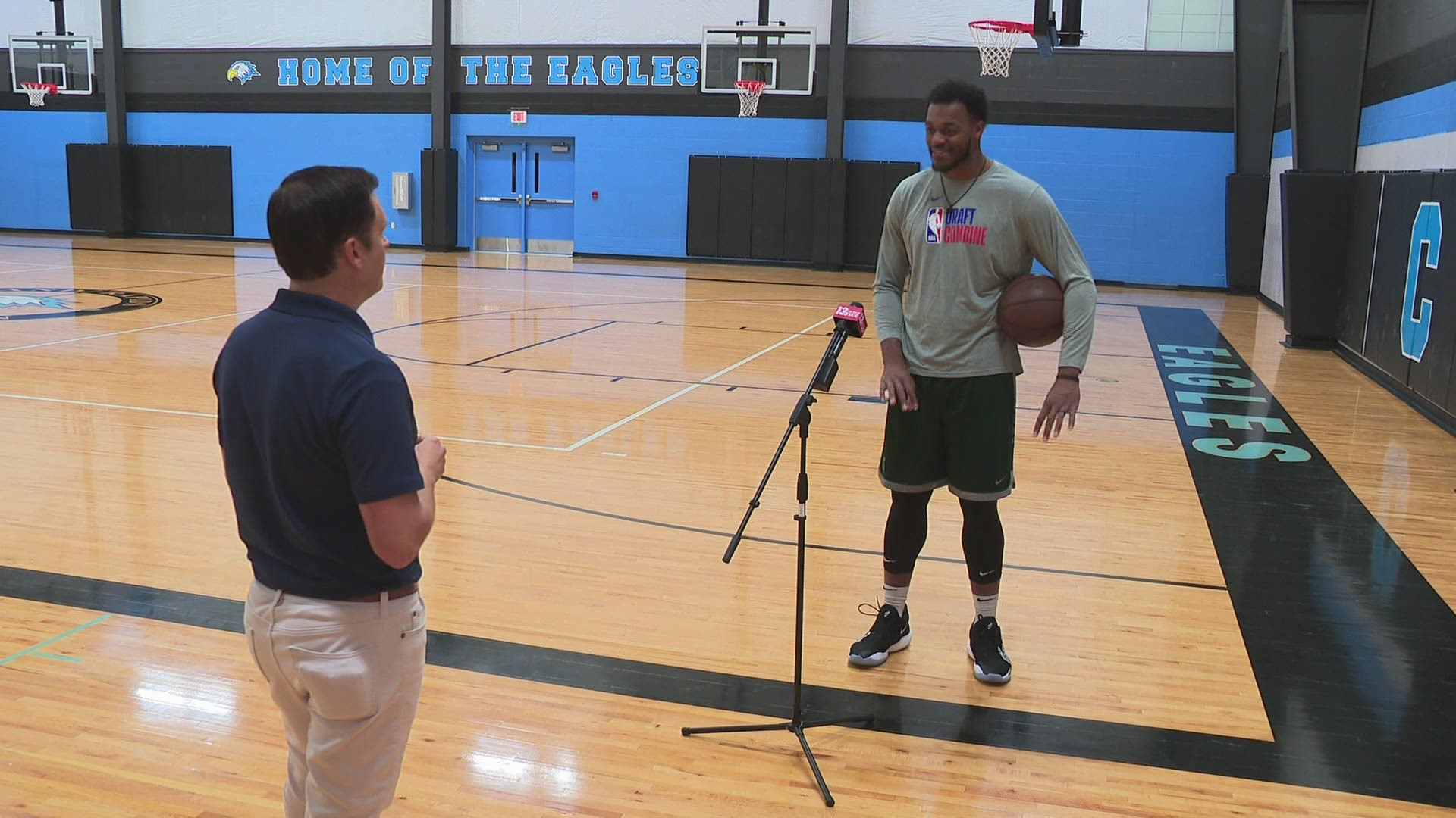 Ready For The Nba How Former Msu Star Xavier Tillman Took His Play To The Next Level With Just A Trainer A Ball And A Basketball Court Wbir Com